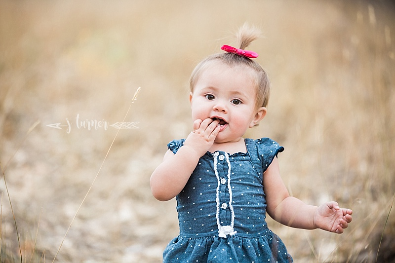 Baby O Turns One!  |  La Junta, CO Family Photographer